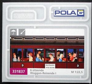 Neu G 6 sitzende Waggon-Reisende I POLA G 331837-1//22,5