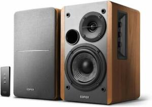 EDIFIER-Studio-R1280T-2-0-Stereo-Speaker-Boxen-Lautsprechersystem-42-Watt-Braun