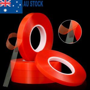 50M-Double-sided-Heat-Resistant-Adhesive-Transparent-Clear-Tape-Acrylic-Tape-AU