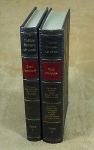 THEATRE-18e-SIECLE-BEAUMARCHAIS-en-2-VOLUMES-CLUB-FRANCAIS-DU-LIVRE-1960