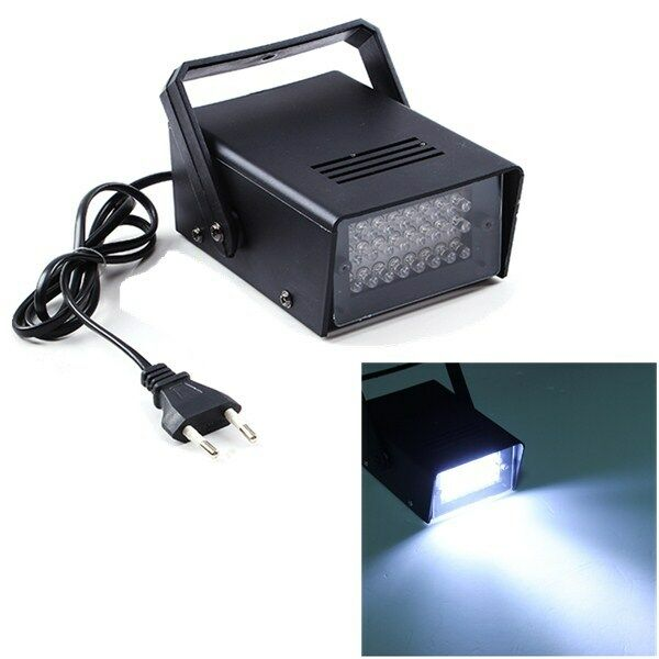24 LED Strobe Light Operated DJ Disco Party Stage Lighting Effects Light 3W 220v