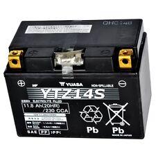 Yuasa YTZ14S Batterie de moto sans entretien pour Benneli BMW Honda KTM & KAWA