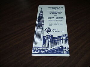 OCTOBER-1959-ERIE-RAILROAD-FORM-CPW-CLEVELAND-SERVICE-PUBLIC-TIMETABLE