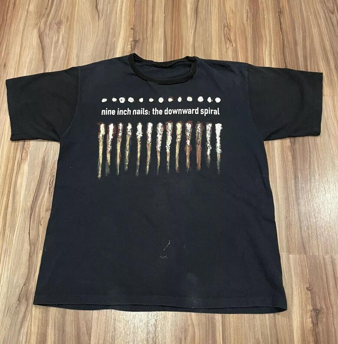 Vintage NIN Nine Inch Nails Further Down The Spir… - image 1