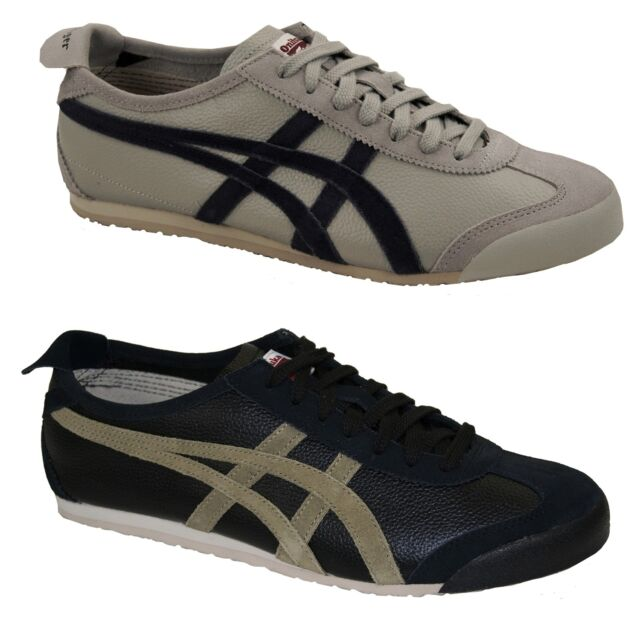 on sale a10d4 f3304 Asics Onitsuka Tiger Mexico 66 Vin Retro Sneakers Trainers Leisure Men's  Women's
