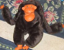 "Vintage retro 13"" stuffed monkey gorilla rubber face childrens stuffed cute ape"