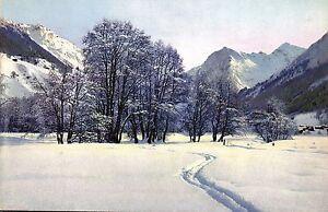 Um 1910/20 Fein Verarbeitet Qualifiziert Schweiz Landschaft Bei Davos Graubünden