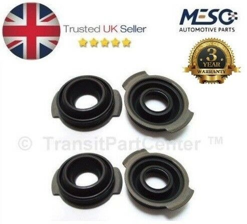 A SET OF 4 OE QUALITY INJECTOR SEAL FORD MONDEO MK3 2000-2007 2.2 DIESEL
