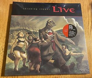 Live - Throwing Copper [25th Anniversary Edition] LP Vinyl Record Album SEALED