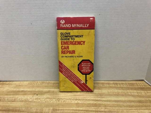 Rand McNally Glove Compartment Guide to Emergency Car Repair