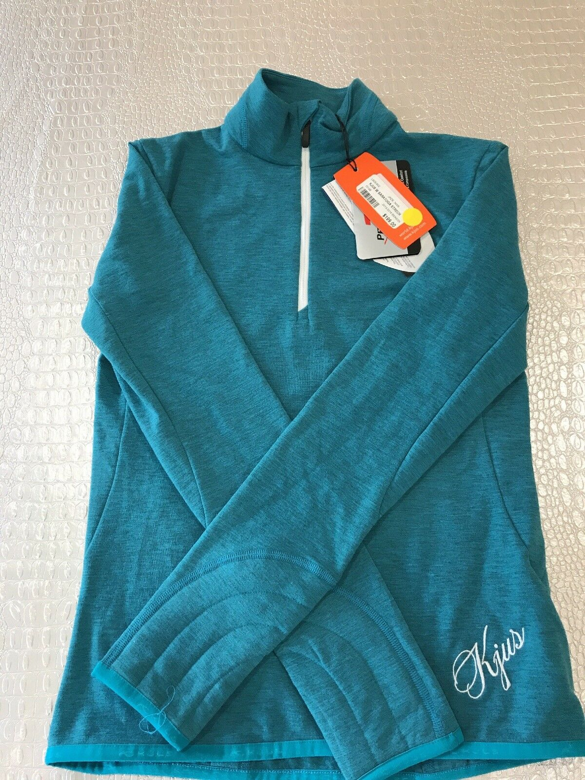 Kjus Womens Saratoga Stretch  Half Zip, size XS, New w Tags, Retail  199  great selection & quick delivery
