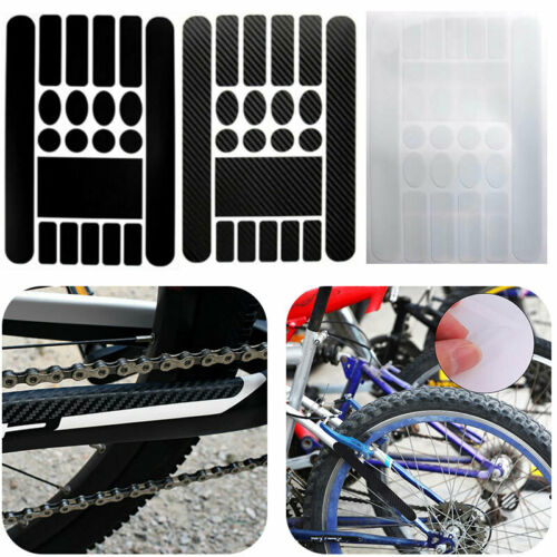 Bicycle Decals Stickers Frame Protection Kits For Mountain Bike Road Cycle Stock