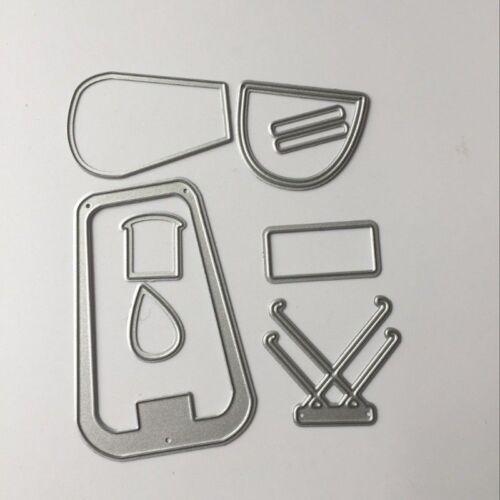 Scissors DIY Cutting Dies Stencil Thread Scrapbooking Album Paper Card Embossing
