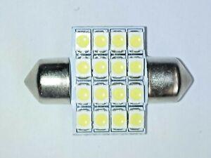 31mm White Led Smd Car Interior Boot Roof Festoon Light Bulb Lamps 269 c5w 12V