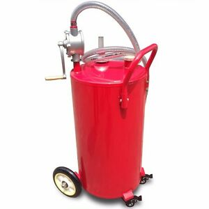 35 gallon gas fuel diesel caddy transfer portable jerry. Black Bedroom Furniture Sets. Home Design Ideas