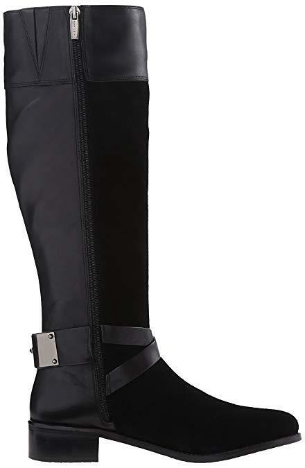 Vince Camuto Black Leather Women's Jaran Riding Boots-Size 7M- 20 20 20 DROPPED 80ad0d