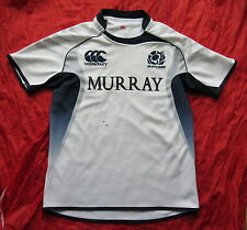 SCOTLAND RUGBY UNION shirt by CANTERBURY 2010-2011 /adult/white/ L