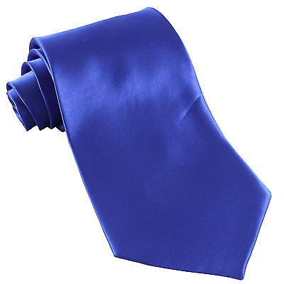 New Polyester Men/'s Neck Tie /& Hankie set shiny finish Silver formal wedding