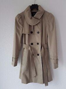 Damen Esprit Trenchcoat Mantel Größe 36 Beige | eBay
