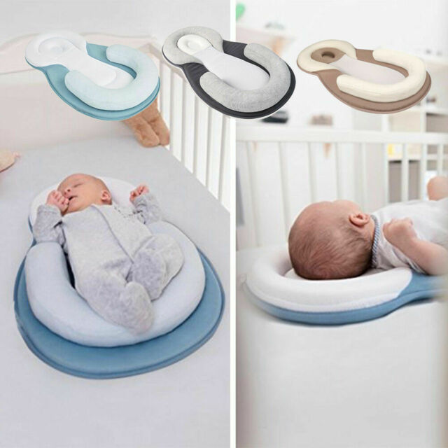 Baby Safe Cotton Anti Roll Pillow Sleep Flat Head Bedding Mattress