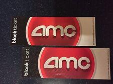 2 AMC Black Movie Tickets