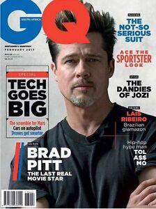 gq magazine south africa february 2017 brad pitt lais ribeiro tol a