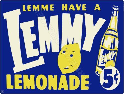"LEMMY LEMONADE 9/"" x 12/"" Sign"