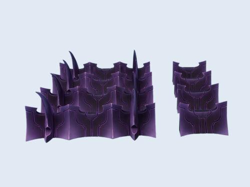Micro ART STUDIO BNIB-ensemble de fortification Temple noir