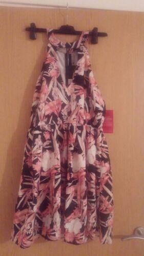 nero £ Elegante spalla Skater 39 12 Dress Rrp Summer freddo da Uk e carino donna aOnBqIOg