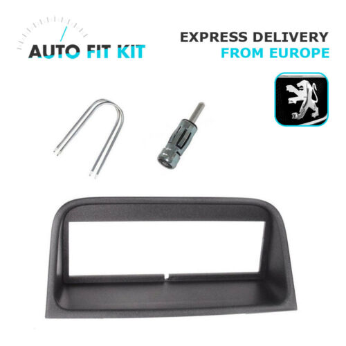 Peugeot 406 1 Din Single DIN Fascia Radio Stereo Replacement Kit Installation