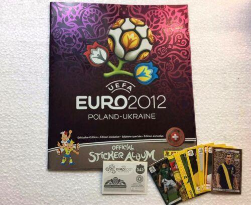 VORONIN P7 EURO 2012 Platinum EDITION Panini Figurina-Sticker n UKR -EXTRA