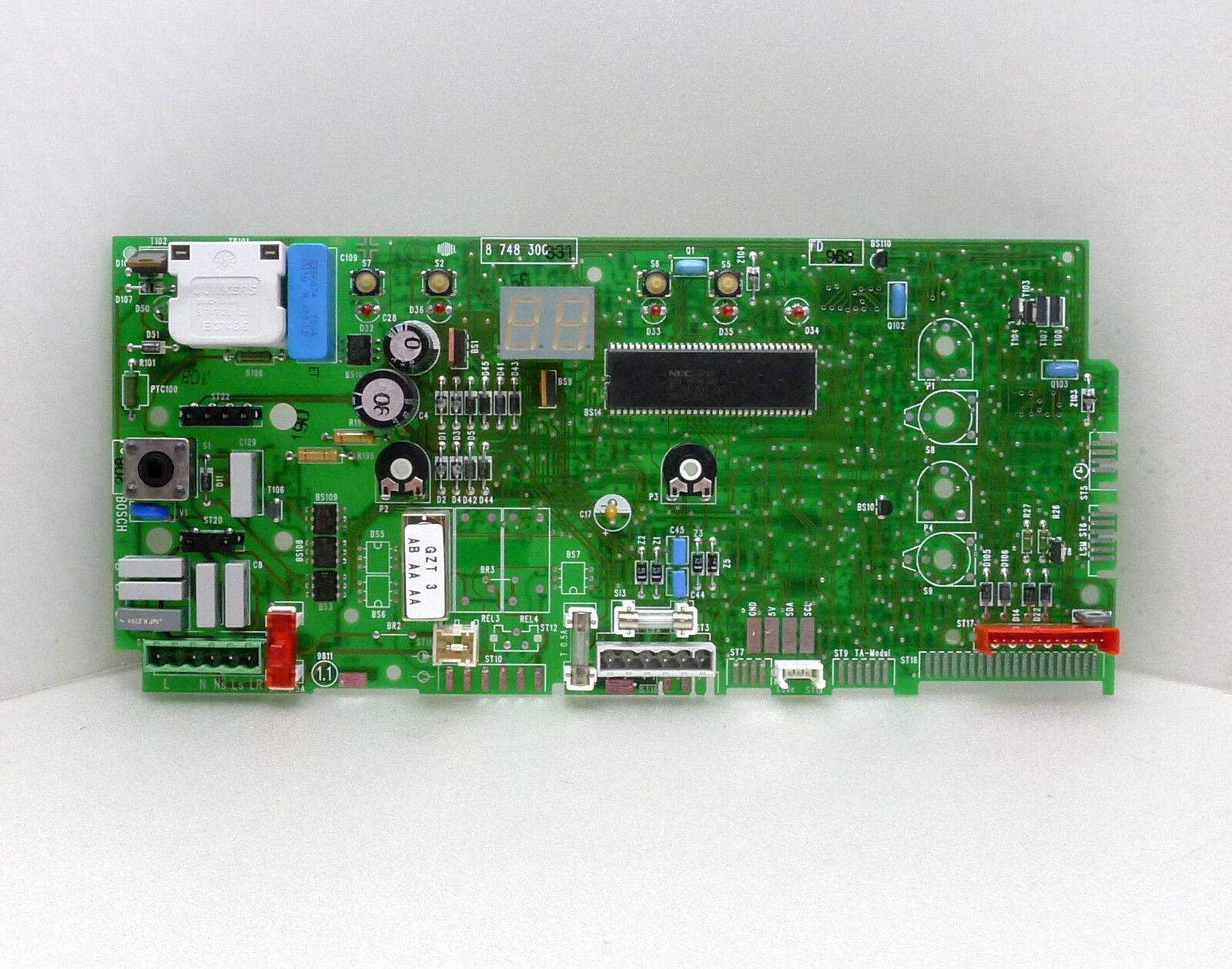 Bosch Junkers  Leiterplatte 8748300331 Garantie 2 Jahre Inzahlungnahme Inzahlungnahme Inzahlungnahme bd792f