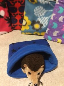 Hedgehog Fleece Snuggle Sack Bonding Bag