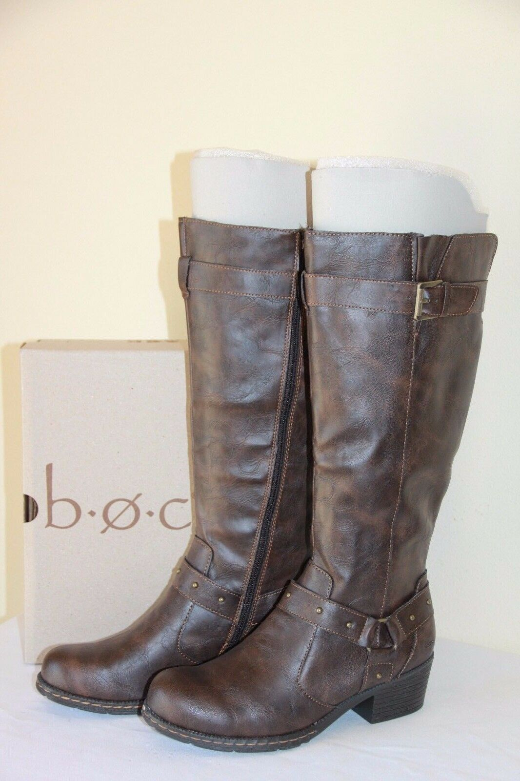 NEW B.O.C. Mahers Women's Riding Boots Winter Dark Brown Casual shoes