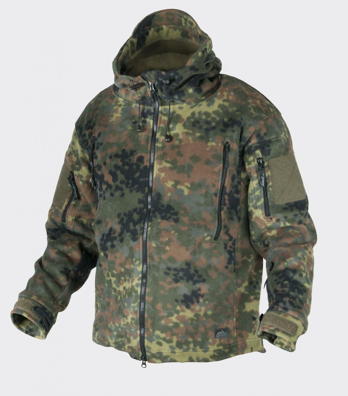 HELIKON tex patriota Fleece outdoor CAPUCHA CHAQUETA BW camuflaje XXL