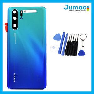 Vitre-arriere-capot-cache-batterie-Auro-Bleu-lentille-adhesif-Huawei-P30-Pro