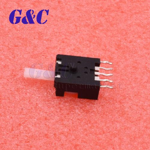 10PCS//20PCS//50PCS DC 30V 0.4A Momentary 5 Terminals SPDT Micro Slide Switch