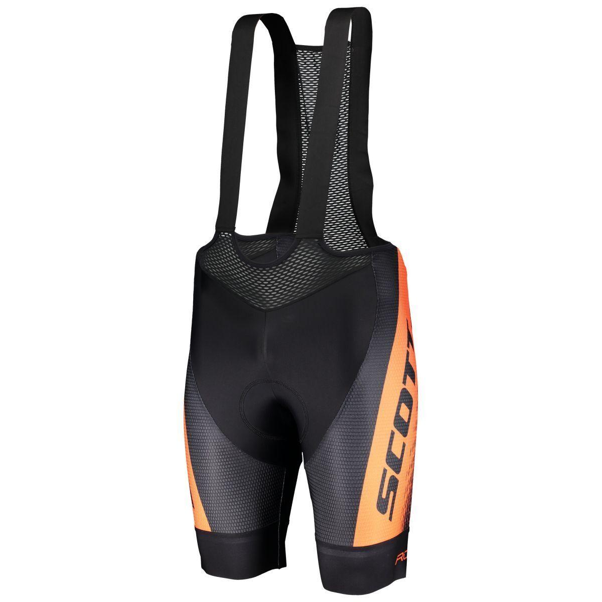 Scott RC Pro +++ Fahrrad Trägerhose kurz schwarz/Orange 2019