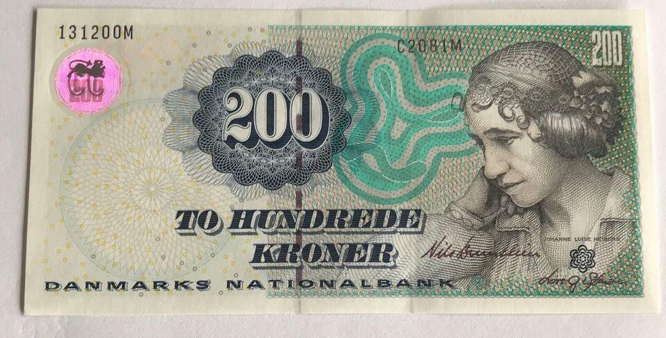 Danmark, sedler, 200 kr
