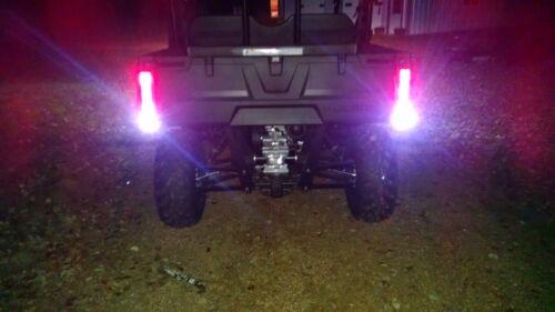 LED Back-Up Reverse Lights ATV RZR Sportsman  Polaris Ranger FREE SHIPPING