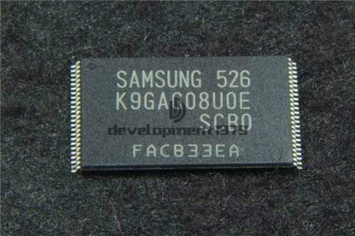 1PCS New SAMSUNG K9GAG08U0E-SCB0 K9GAGO8UOE-SCBO K9GAG08UOE-SCBO SOP48