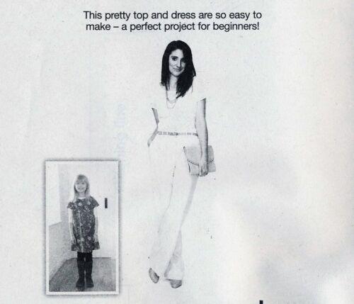 Beginners Smart SHELL TOP /& GIRLS DRESS Prima Sewing Pattern 10 12 14 16 18 20