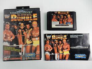 WWF Royal Rumble für Sega Mega Drive - PAL - CIB - komplett !