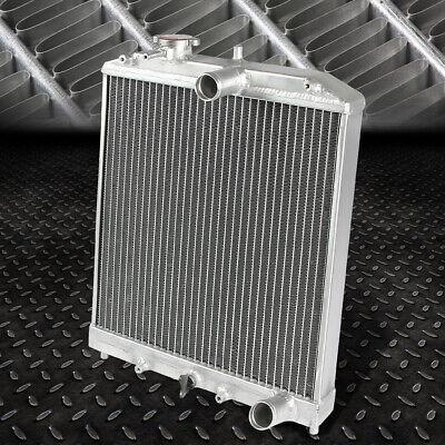 "2-ROW ALUMINUM RADIATOR+2X 9/"" FAN+OIL COOLER BLACK FOR 94-01 INTEGRA DB//DC2"
