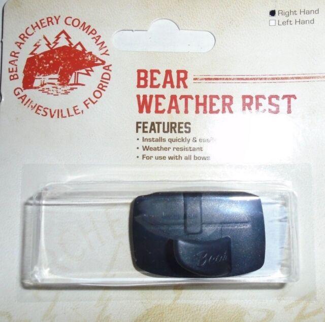 LH or RH Bear Weather Rest