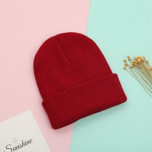 Details about  /Newborn Baby Knitted Crochet Beanie Hat Boy Girl Winter Warm Kids Cap US GgXwG