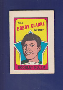 The-Bobby-Clarke-Story-Booklet-1971-72-O-PEE-CHEE-OPC-Hockey-10-EXMT-Flyers