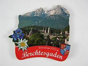 Berchtesgarden-3D-grosser-Holz-Magnet-Souvenir-Germany-Deutschland