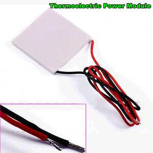 High Temperature Thermoelectric Power Generator Peltier TEG Module 40x40mm HighQ