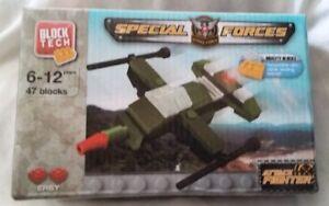 Block Tech (lego) Forces Spéciales Fighter 47 Construction Bloc Pièces (scellé)-afficher Le Titre D'origine Avec Une RéPutation De Longue Date
